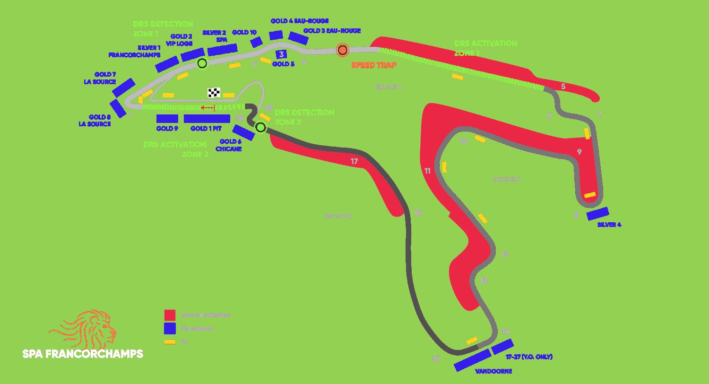 Circuit Grand Prix® van België - Spa-Francorchamps 2021