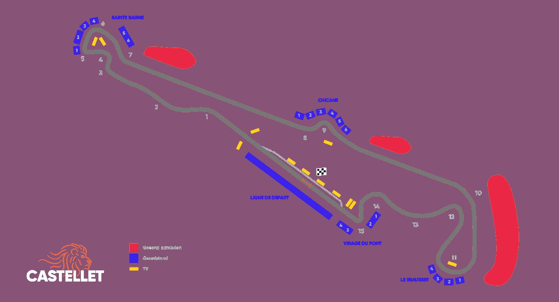 Staanplaatsen gids voor de Grand Prix van Frankrijk – Circuit Paul Ricard