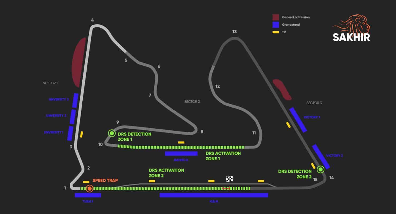 Vijfdaagse vliegreis – Formule 1 Bahrein – Sakhir 2020