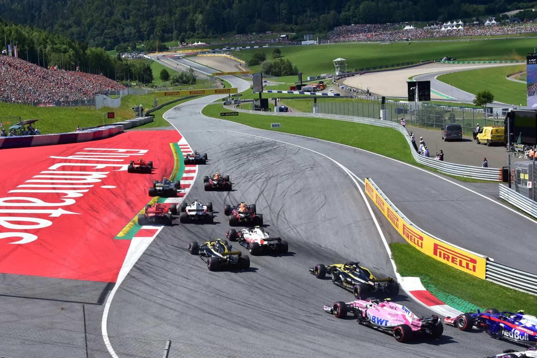 Vierdaagse Vliegreis F1 Oostenrijk Red Bull Ring 2019 Race