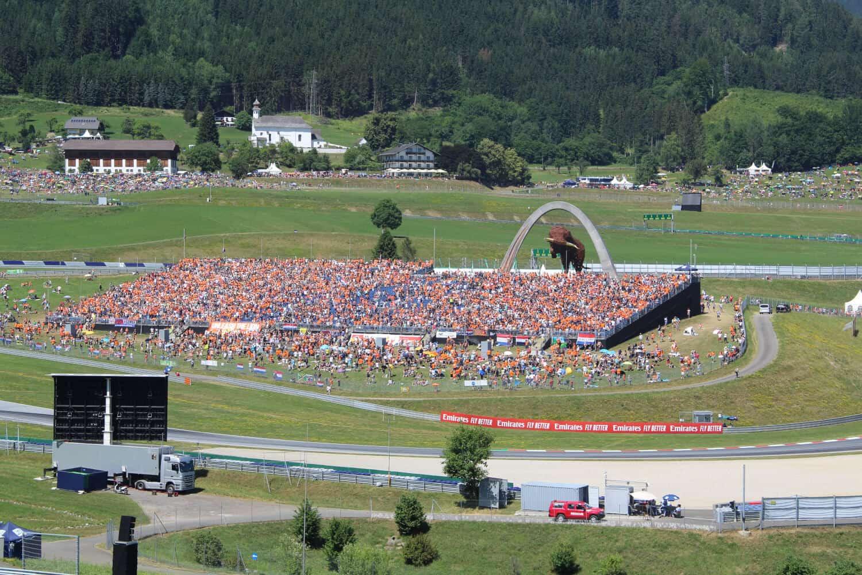 Vierdaagse vliegreis – Formule 1 Oostenrijk-  Spielberg 2020