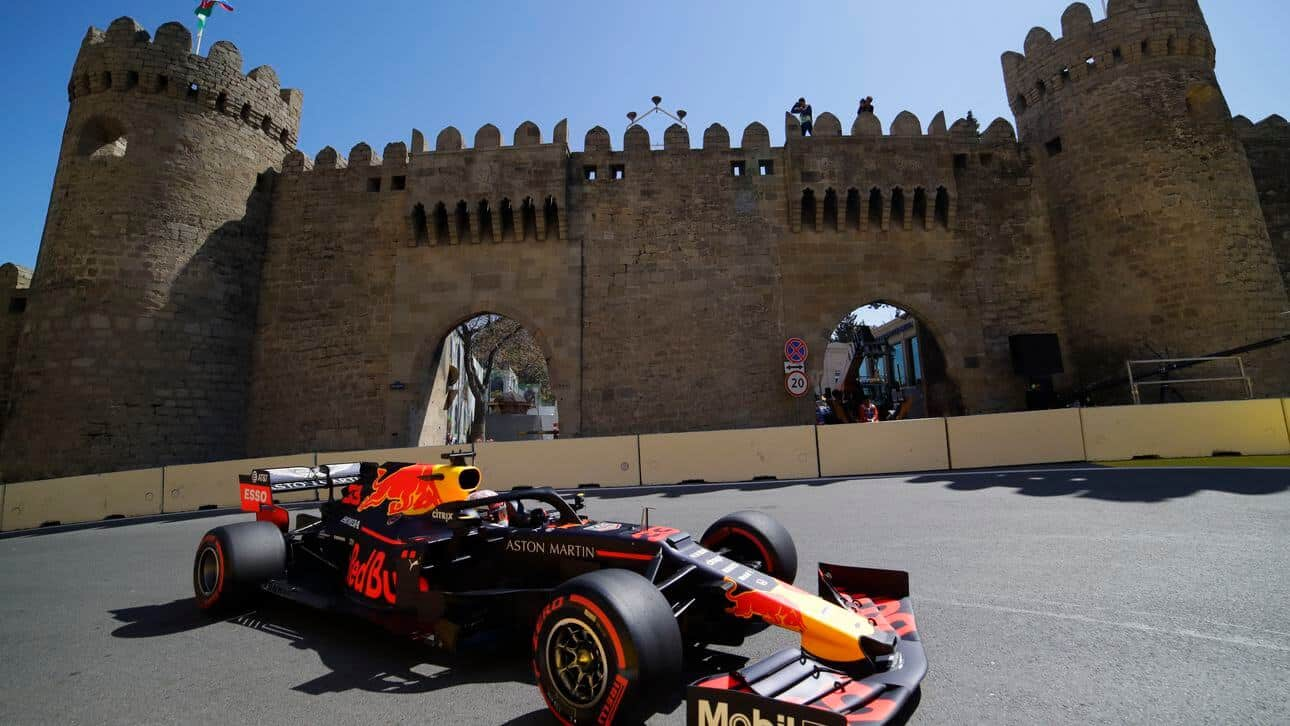 Zesdaagse vliegreis – Formule 1 Azerbeidzjan – Bakoe 2020