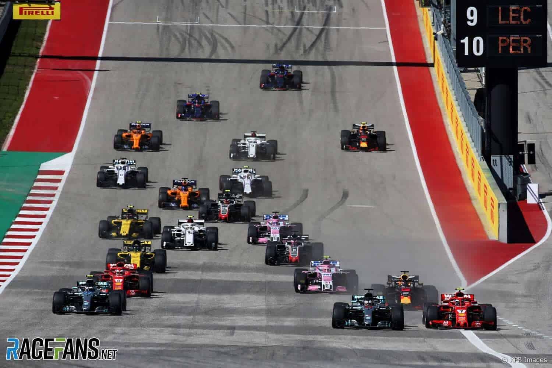 Race Resultaat – Grand Prix van de Verenigde Staten – Austin 2018
