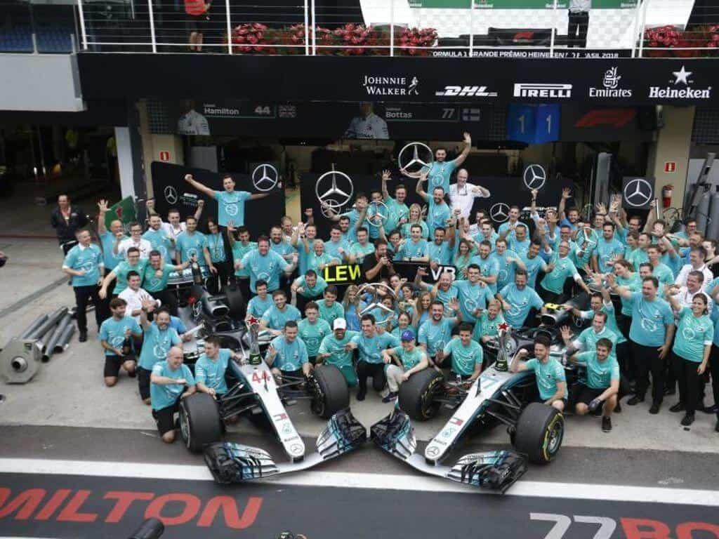 Race Resultaat – Grand Prix van Brazilië São Paolo 2018
