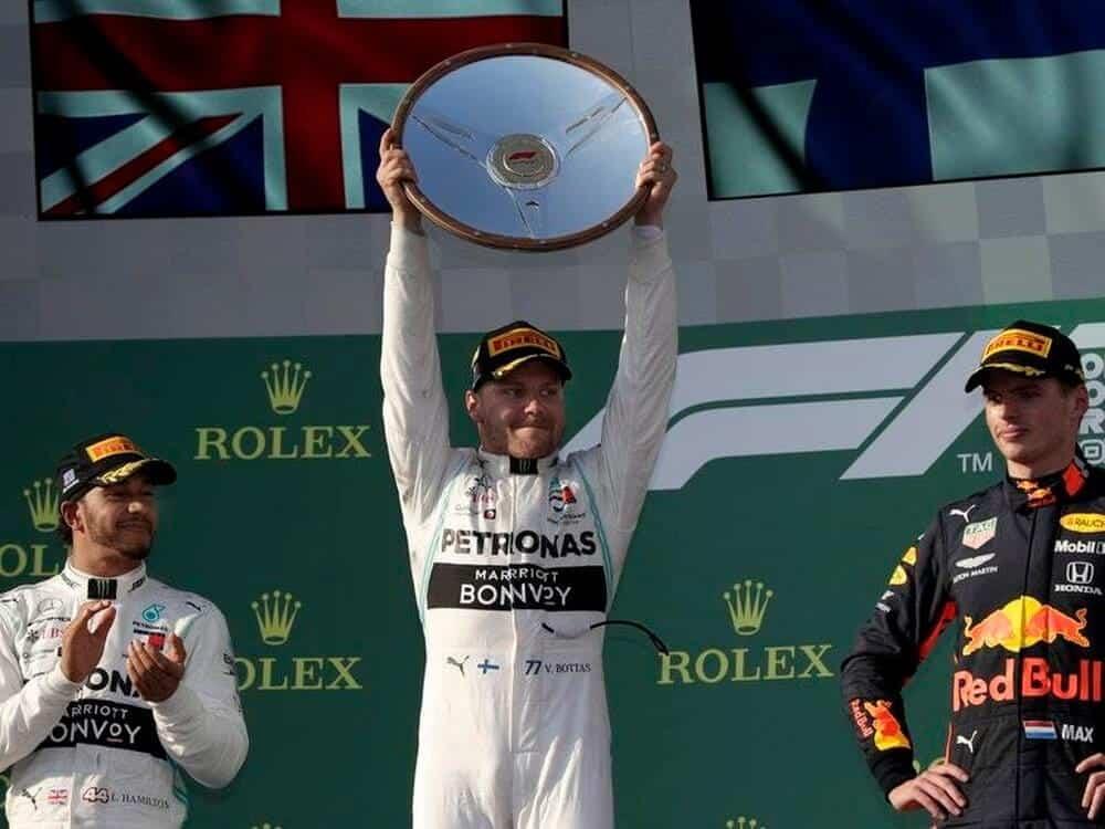 Race Resultaat – Grand Prix van Australië – Melbourne 2019