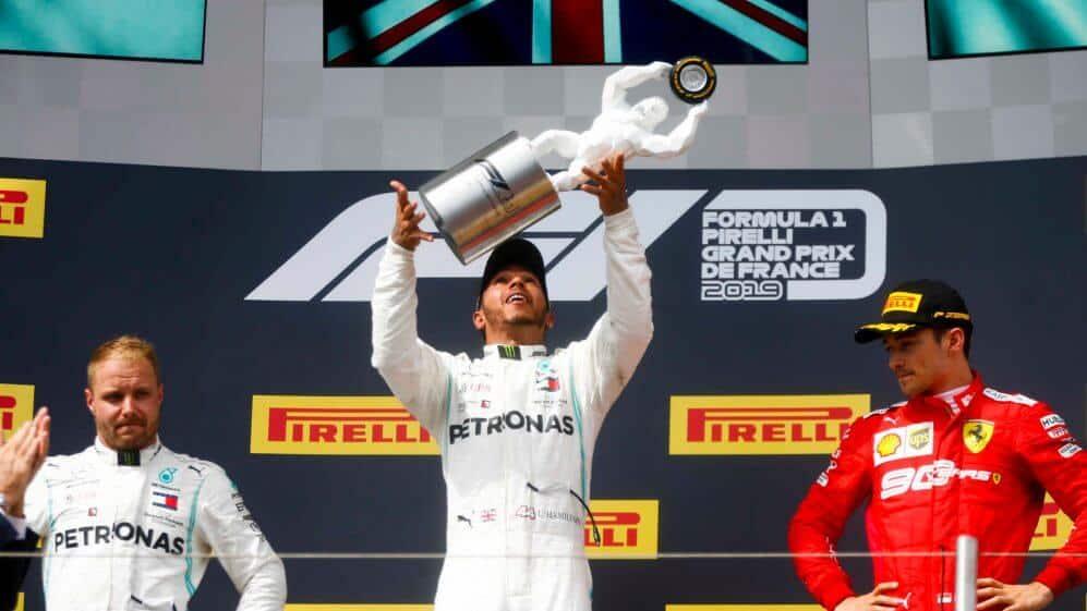Race Resultaat – Grand Prix van Frankrijk – Le Castellet 2019