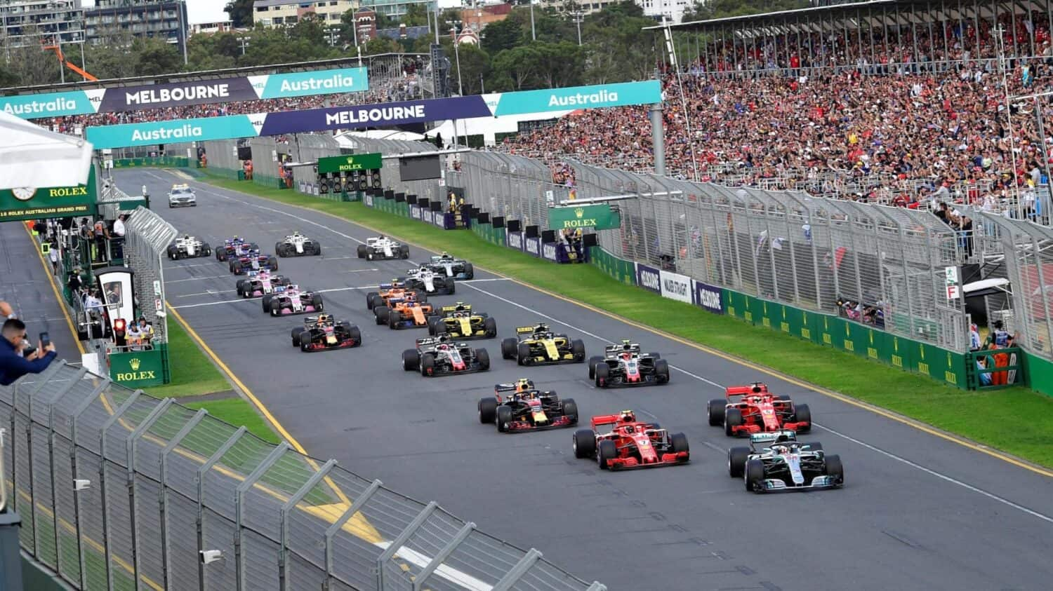 Tickets Grand Prix van Australië - Melbourne 2020