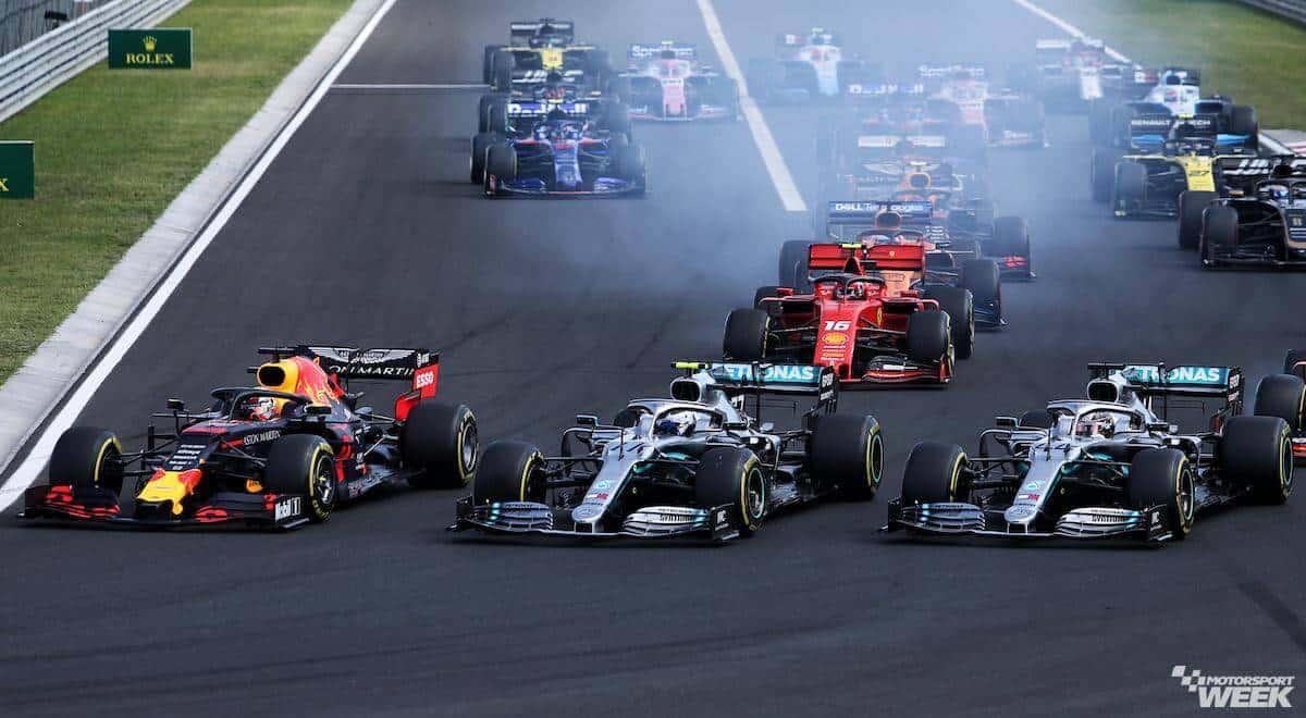 Tickets Grand Prix van Hongarije - Boedapest 2020