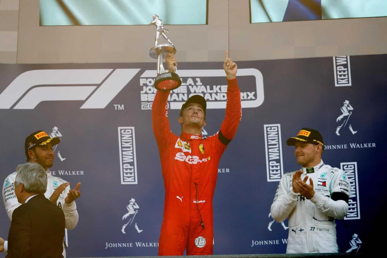 Race Resultaat – Grand Prix van België – Spa-Francorchamps 2019
