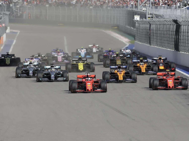 Tickets Grand Prix van Rusland – Sotsji 2020