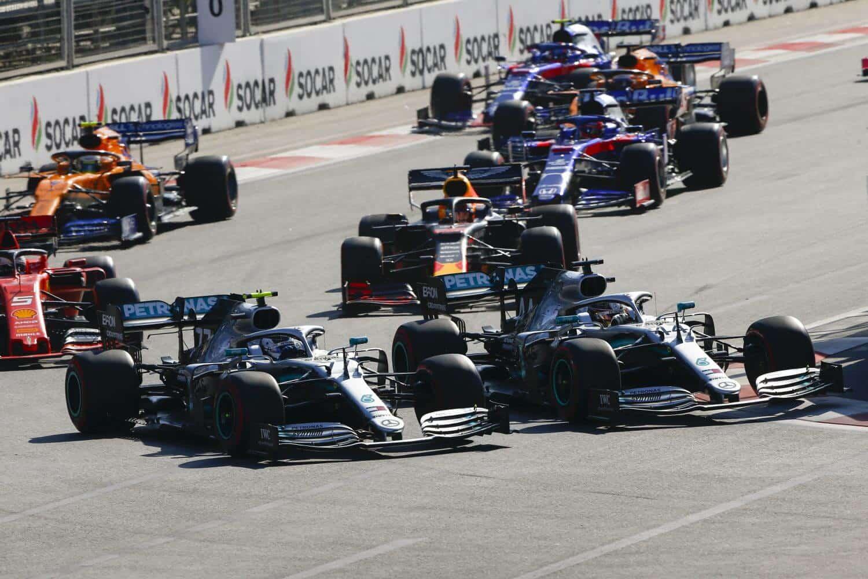 Tickets Grand Prix van Azerbeidzjan - Bakoe 2020