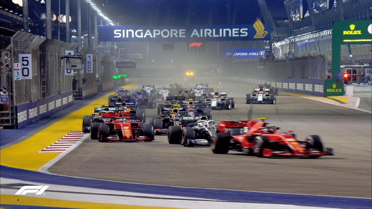 Race Resultaat – Grand Prix van Singapore – Marina Bay 2019