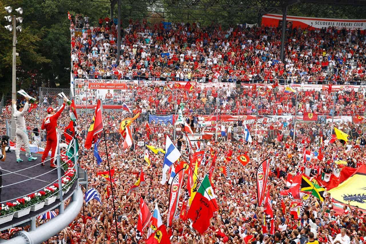 F1 Monza – Staanplaatsen gids Autodromo Nazionale di Monza – Formule 1 Italië