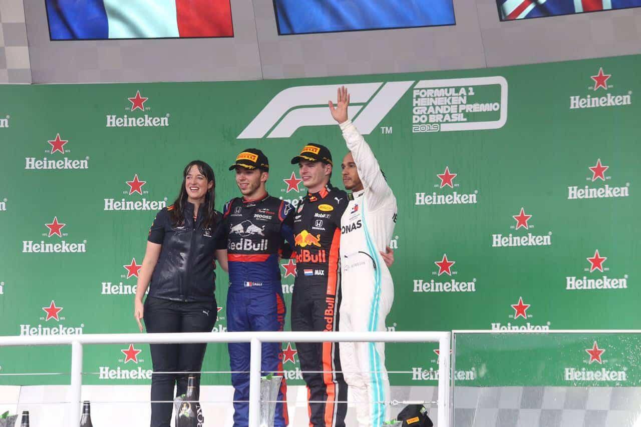 Race Resultaat – Grand Prix van Brazilië – São Paulo 2019