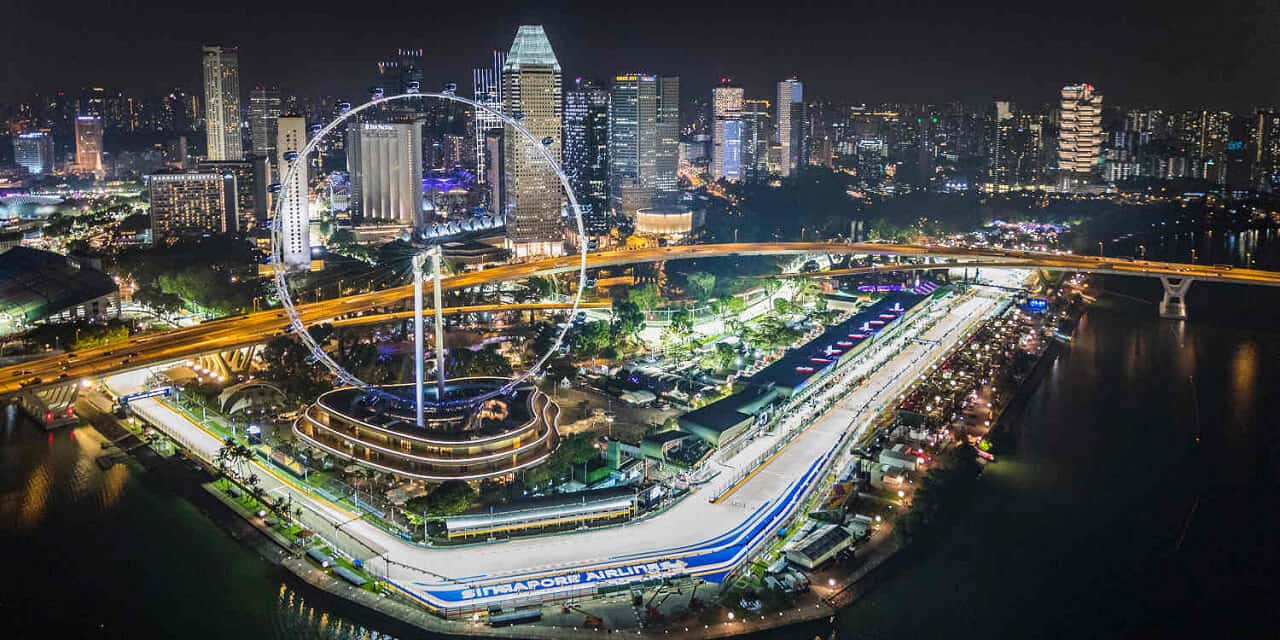 Achtdaagse vliegreis – Formule 1 Singapore – Marina Bay 2020
