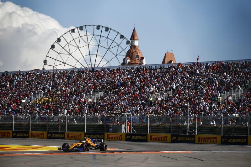 Vijfdaagse vliegreis – Formule 1 Rusland – Sotsji 2020