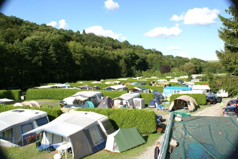 Campingplek – Formule 1 België – Kampeerplek Comfort
