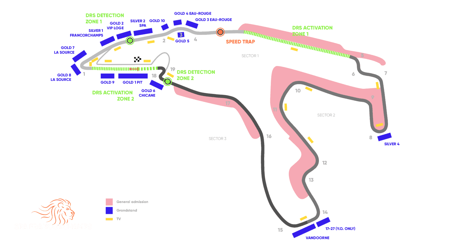 Circuit Grand Prix® van België - Spa-Francorchamps 2021