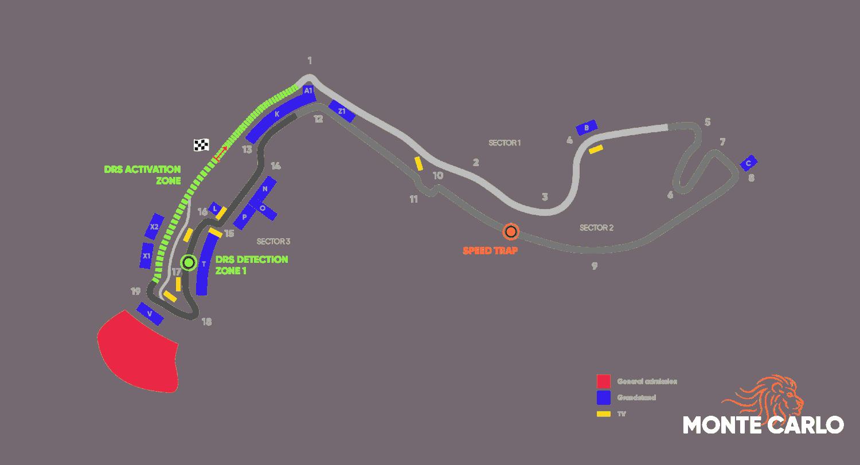 Circuit Grand Prix® van Monaco - Monte Carlo 2021