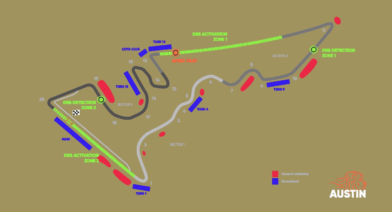 Circuit Grand Prix® van de Verenigde Staten – Austin 2020