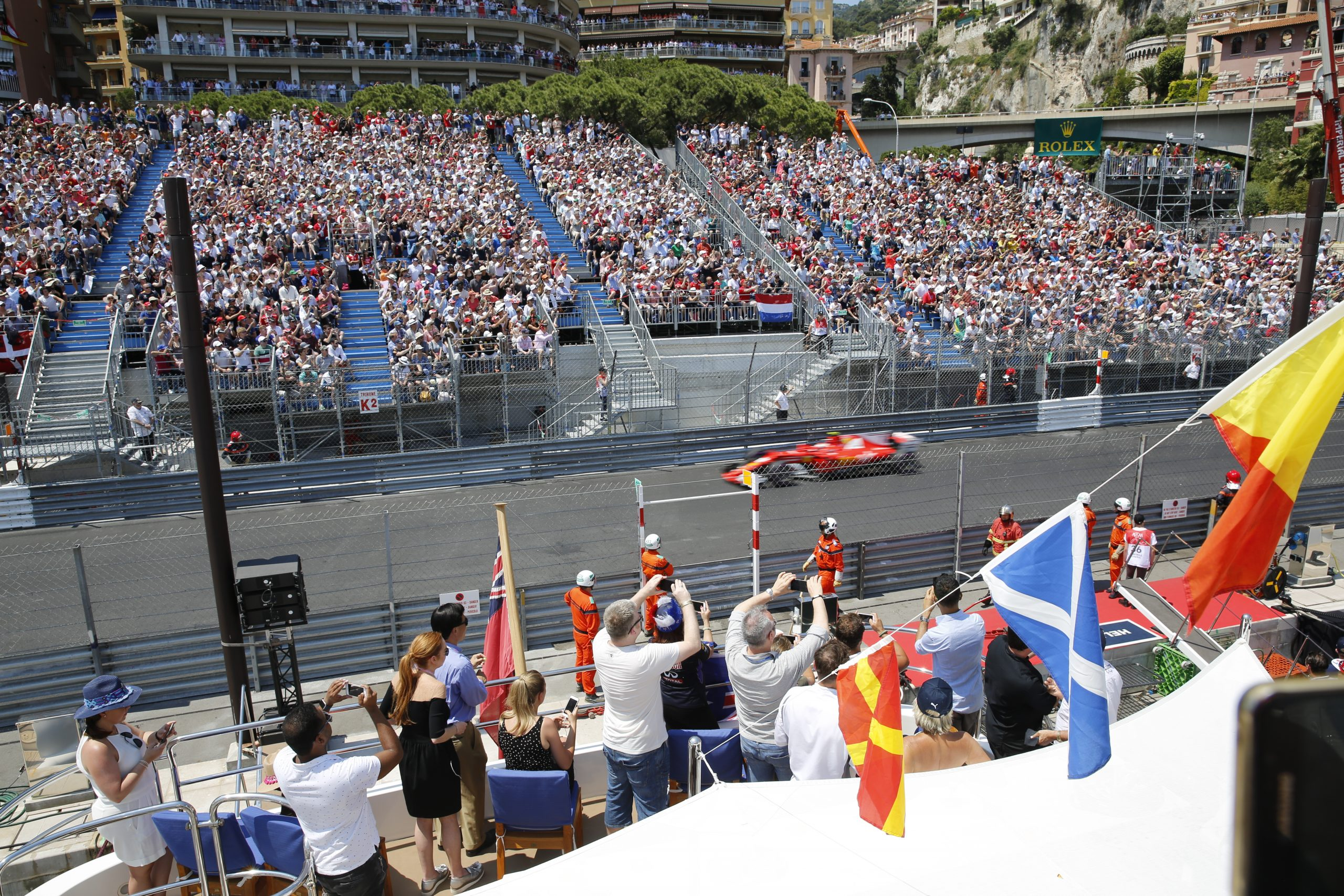 Amber Lounge Jacht Hospitality – Formule 1 Monaco – Monte Carlo 2021
