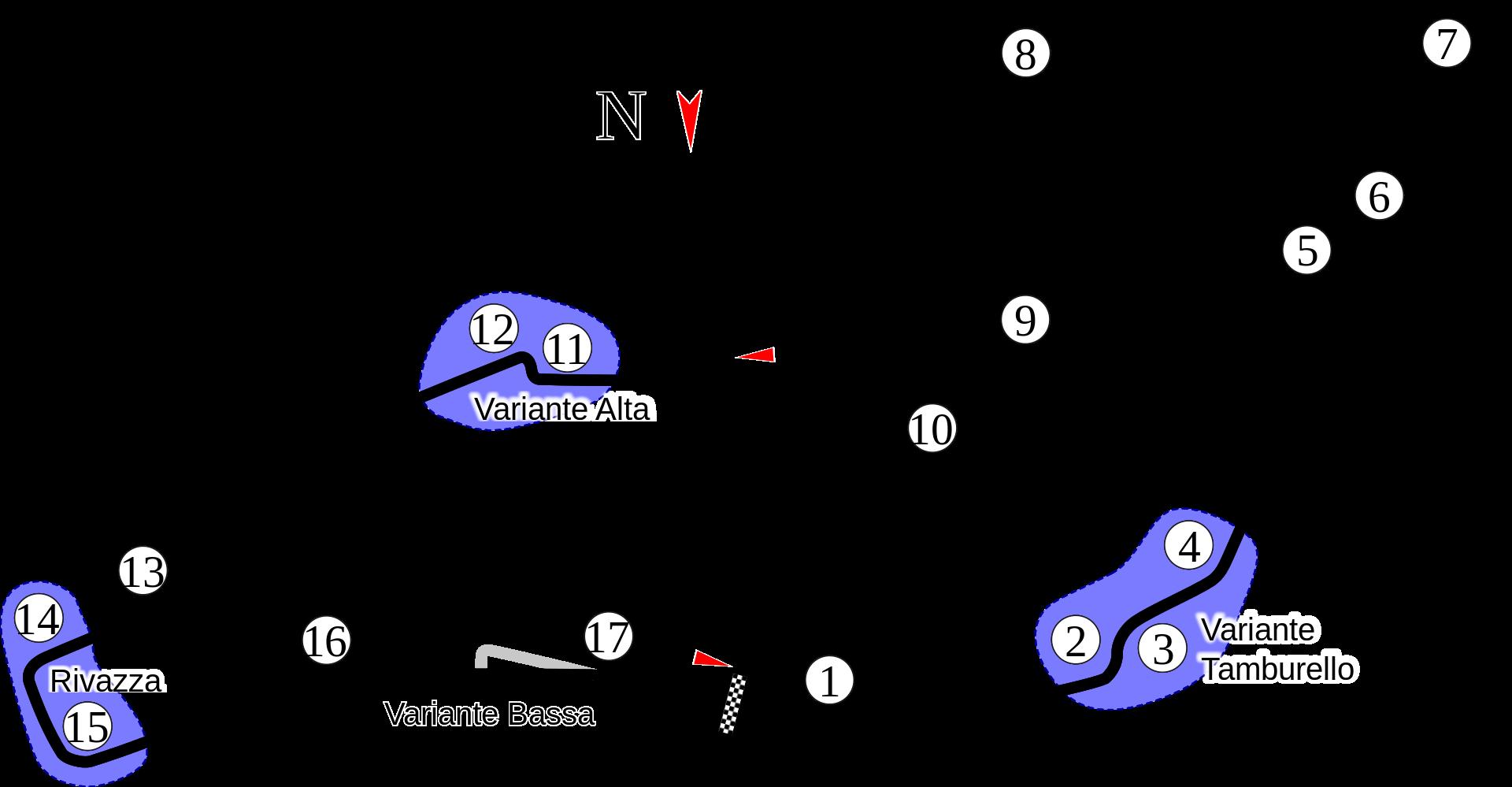 Circuit Formula 1 Emilia Romagna Grand Prix