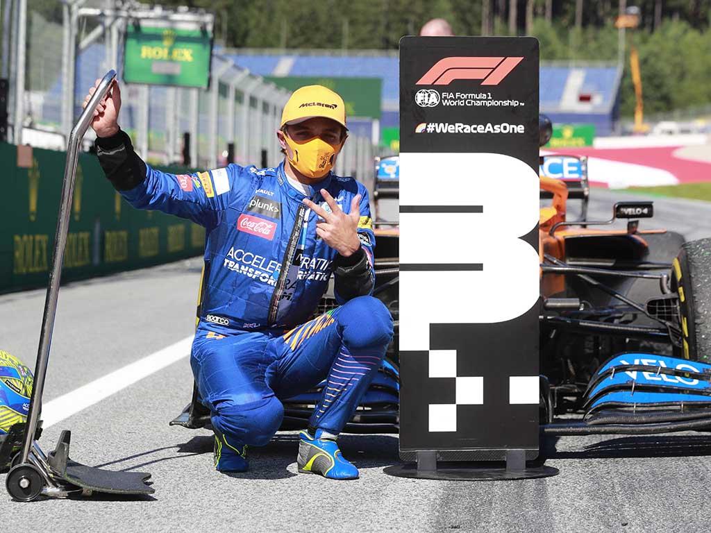 Race Resultaat – Grand Prix van Oostenrijk – Spielberg 2020