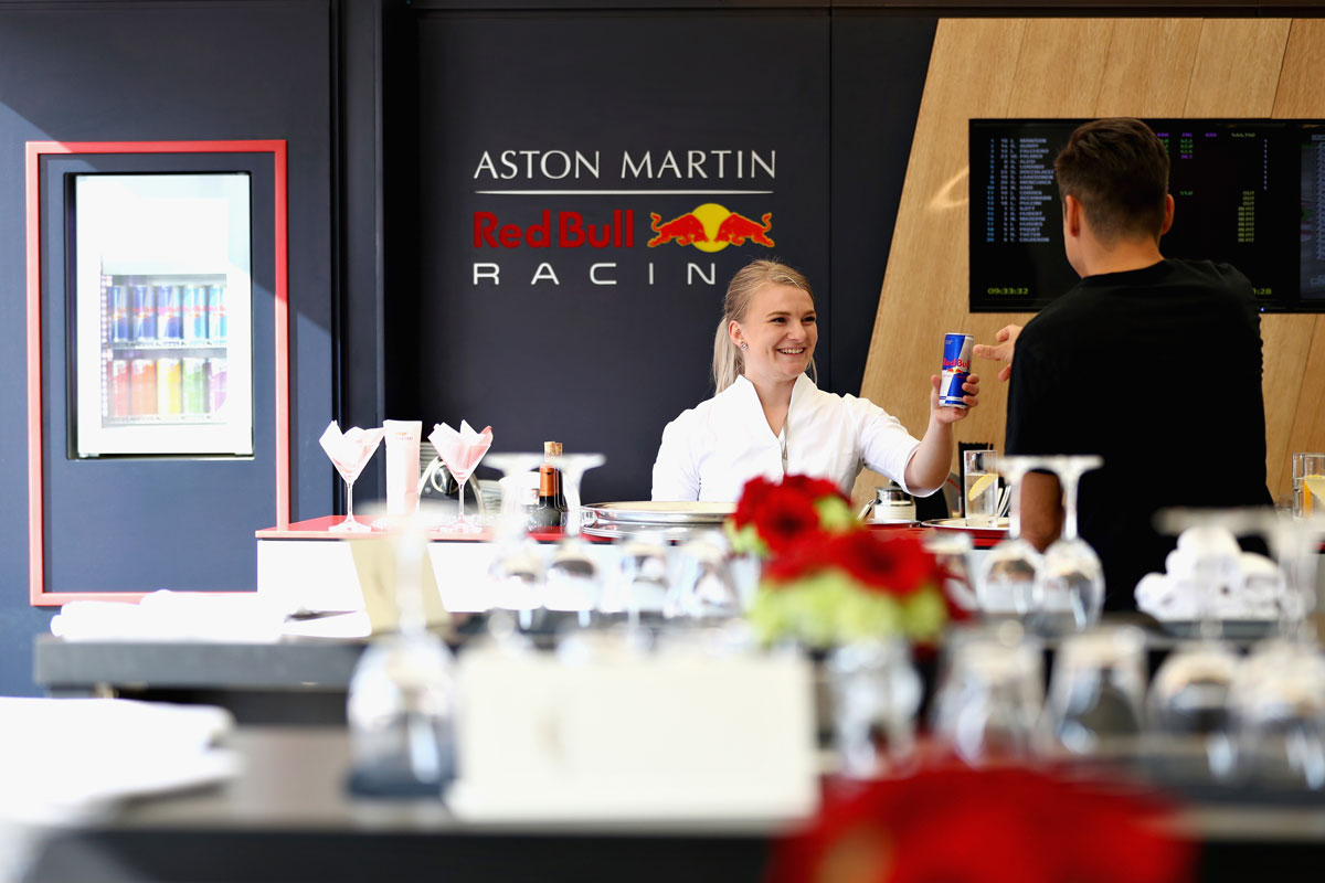 F1 België 2021 – Red Bull Racing Paddock Club ™ Hospitality