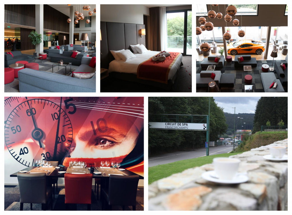 Hotel F1 Spa GP Belgie kaarten F1 Spa