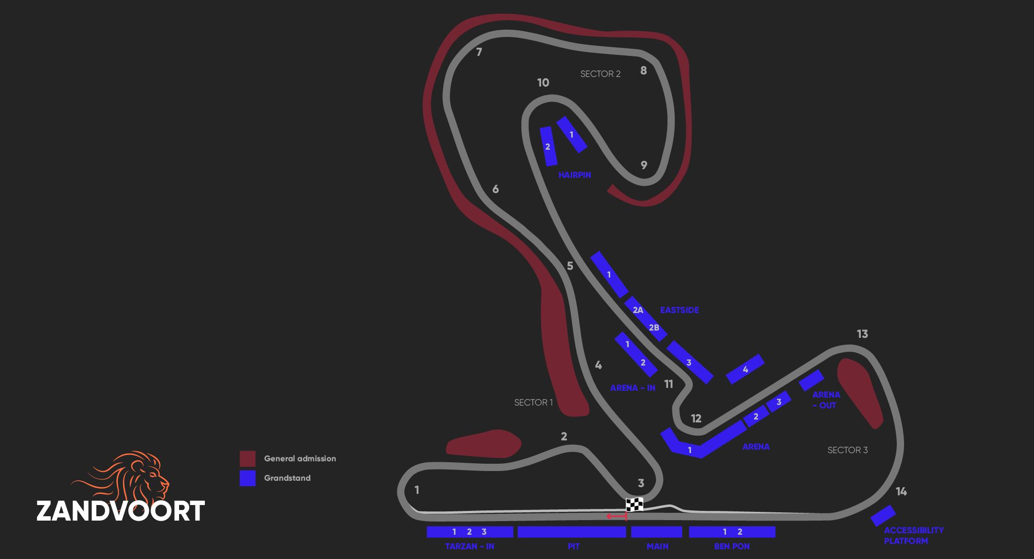 Kaarten F1 Zandvoort 2021 – Paddock Club ™ –  F1® Experiences