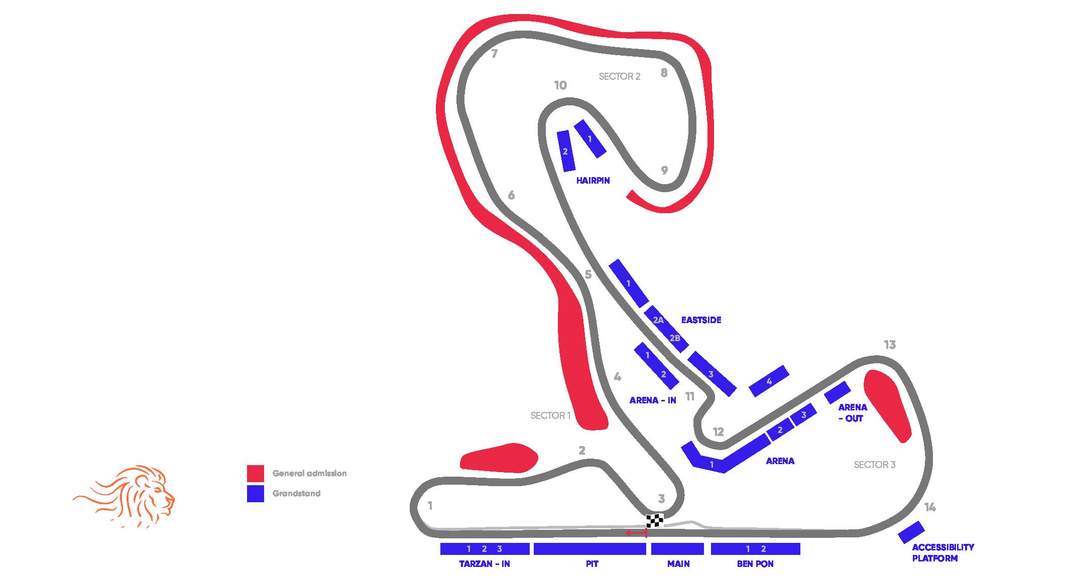 Circuit Grand Prix® van Nederland – Zandvoort 2021