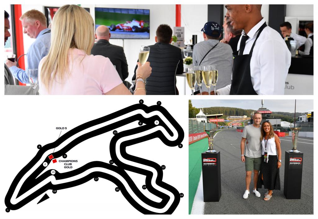 GP Belgie kaarten F1 Spa 2021