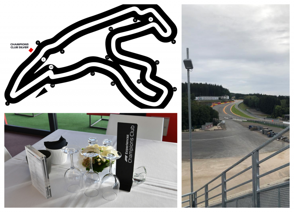 Kaarten F1 Spa GP Belgie 2021