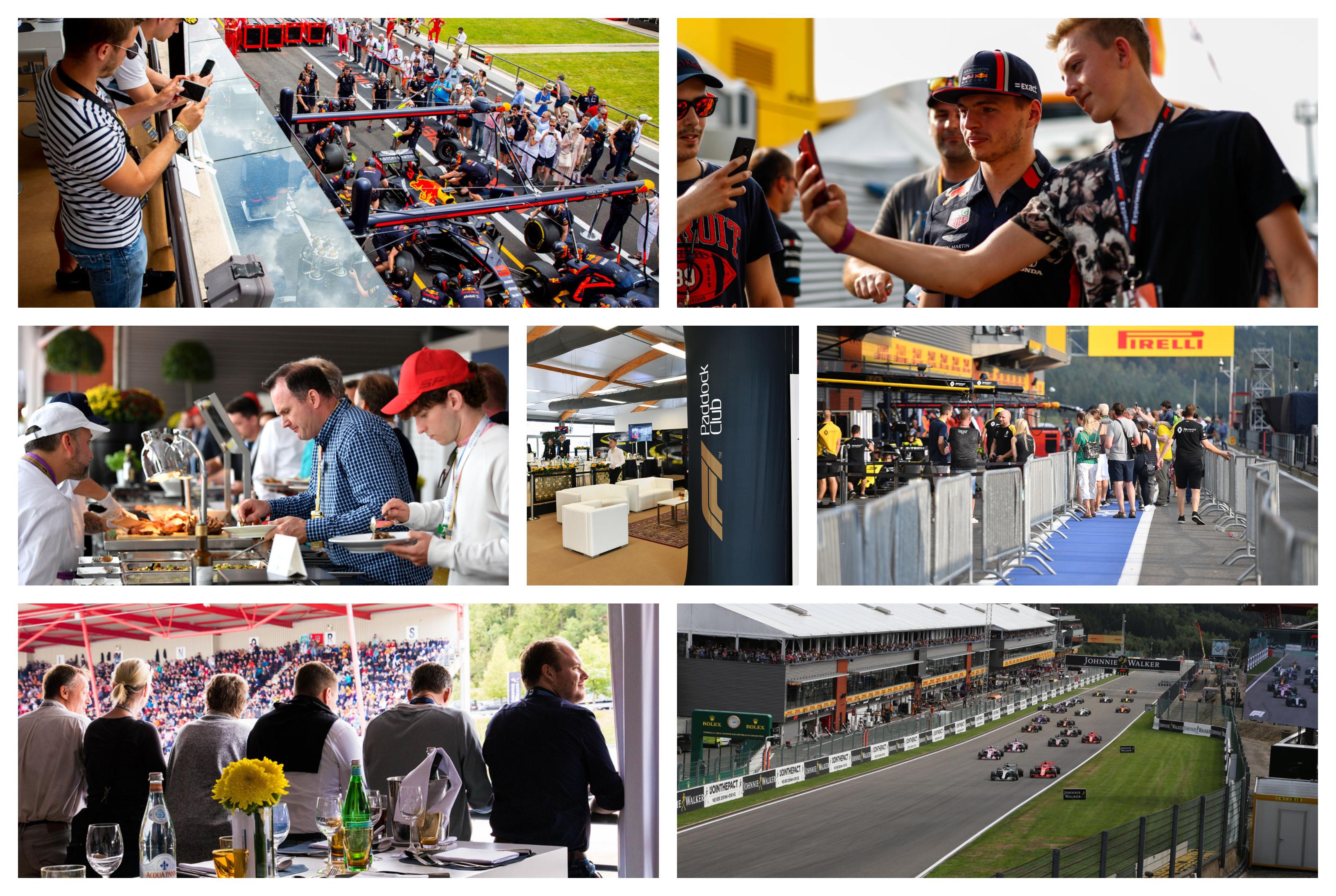 GP België – F1 Spa 2021 – Legend ticketpakket (Paddock Club™) F1® Experiences