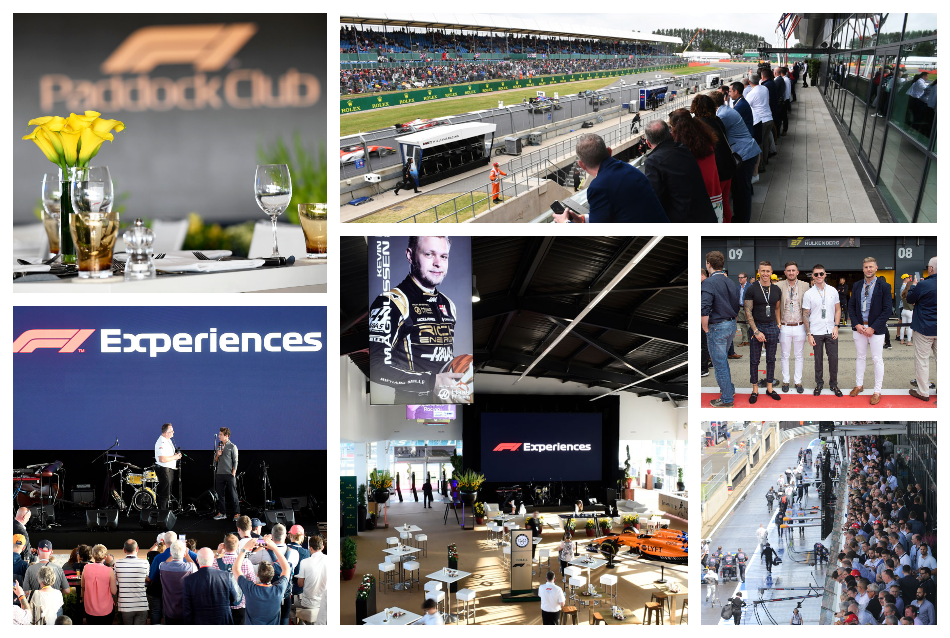 Formule 1 Silverstone 2021 – Paddock Club ™ –  F1® Experiences