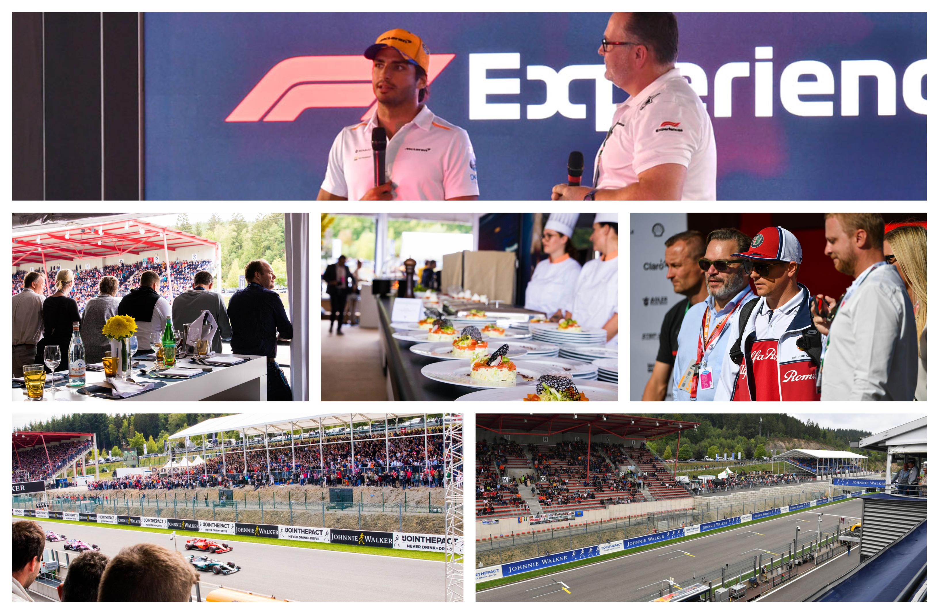 GP België – F1 Spa 2021 – Paddock Club ™ –  F1® Experiences