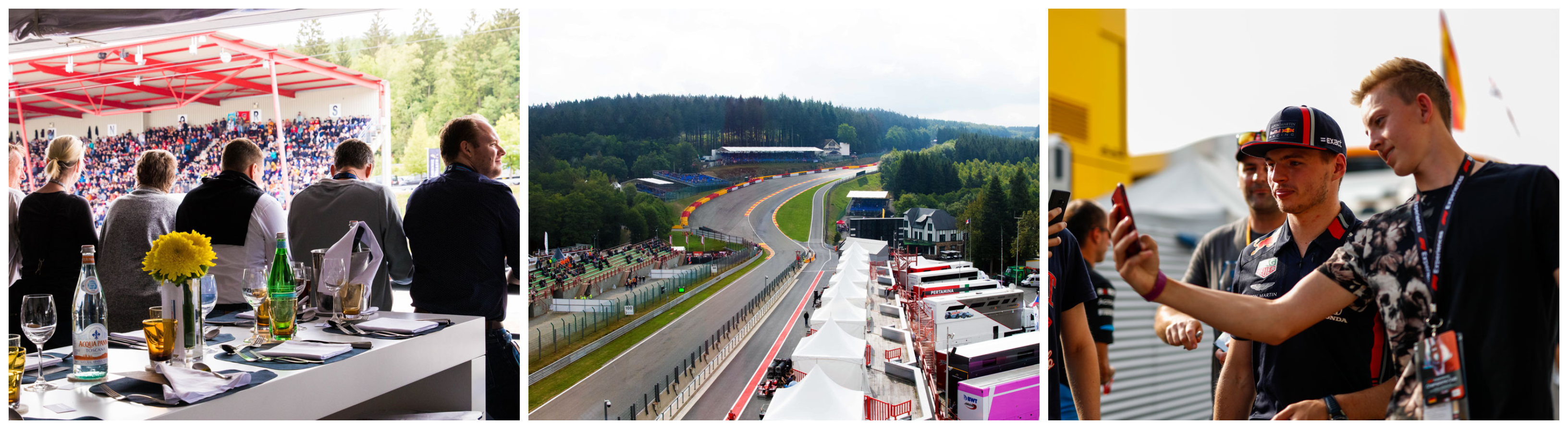 F1® Experiences – Tickets F1 Spa 2021