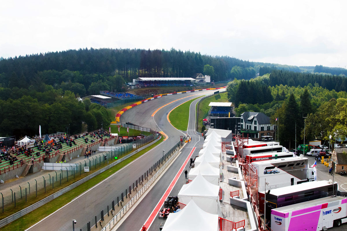 GP België – F1 Spa 2021 – Champions Club F1® Experiences
