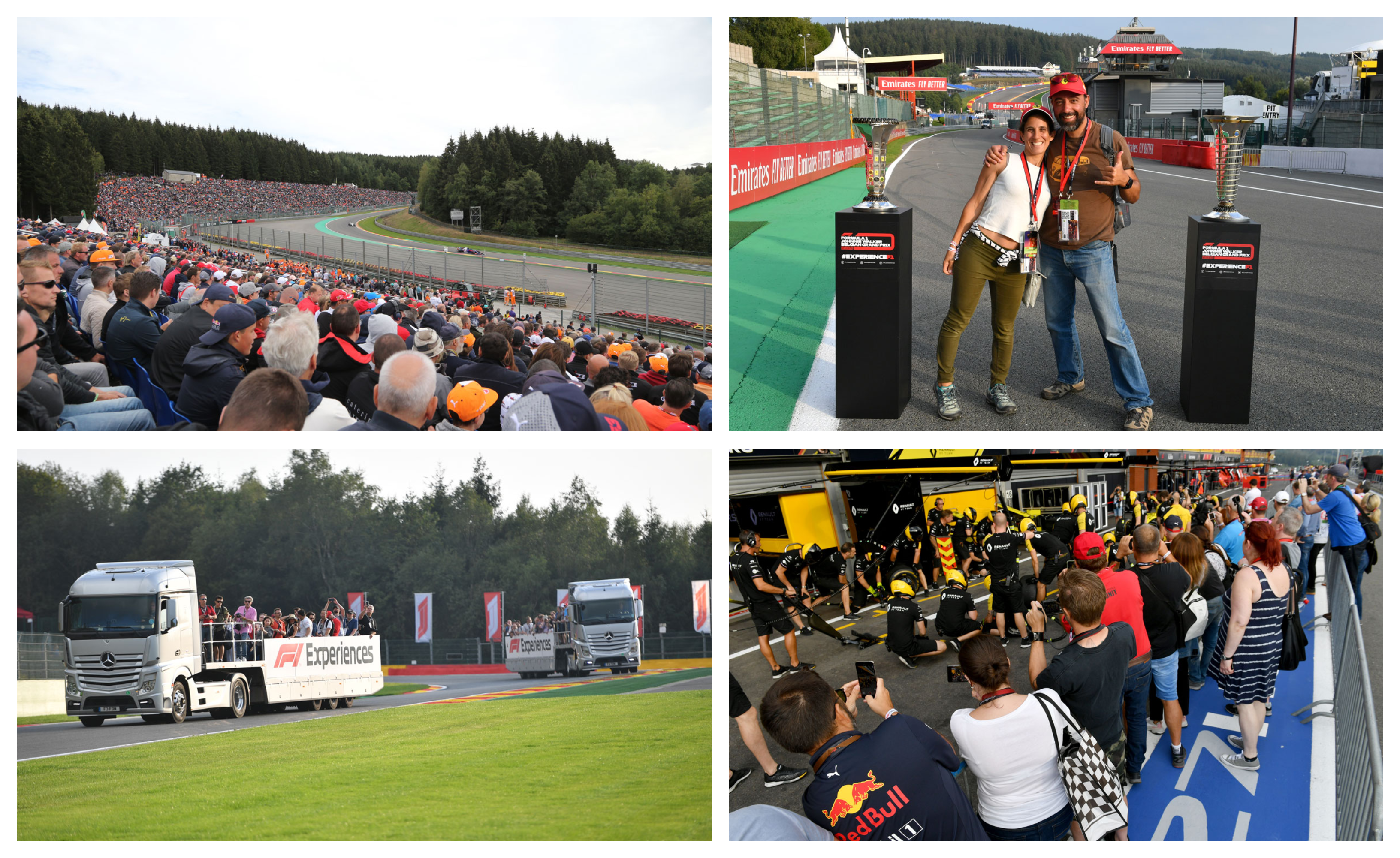 GP België – F1 Spa 2021 – Starter ticketpakket F1® Experiences