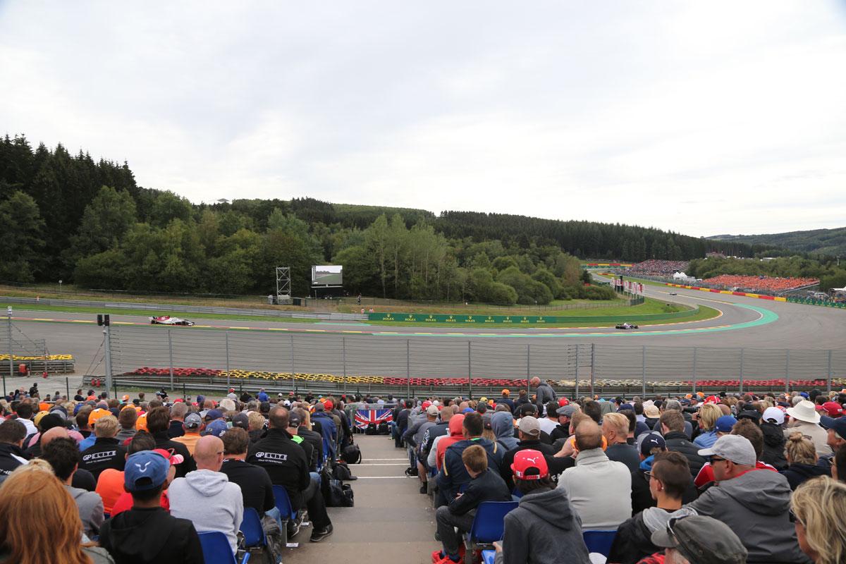 GP België – F1 Spa 2021 – Starter ticketpakket F1® Experiences