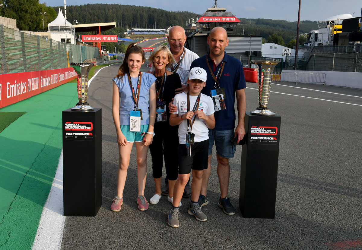 GP België – F1 Spa 2021 – Trophy ticketpakket F1® Experiences
