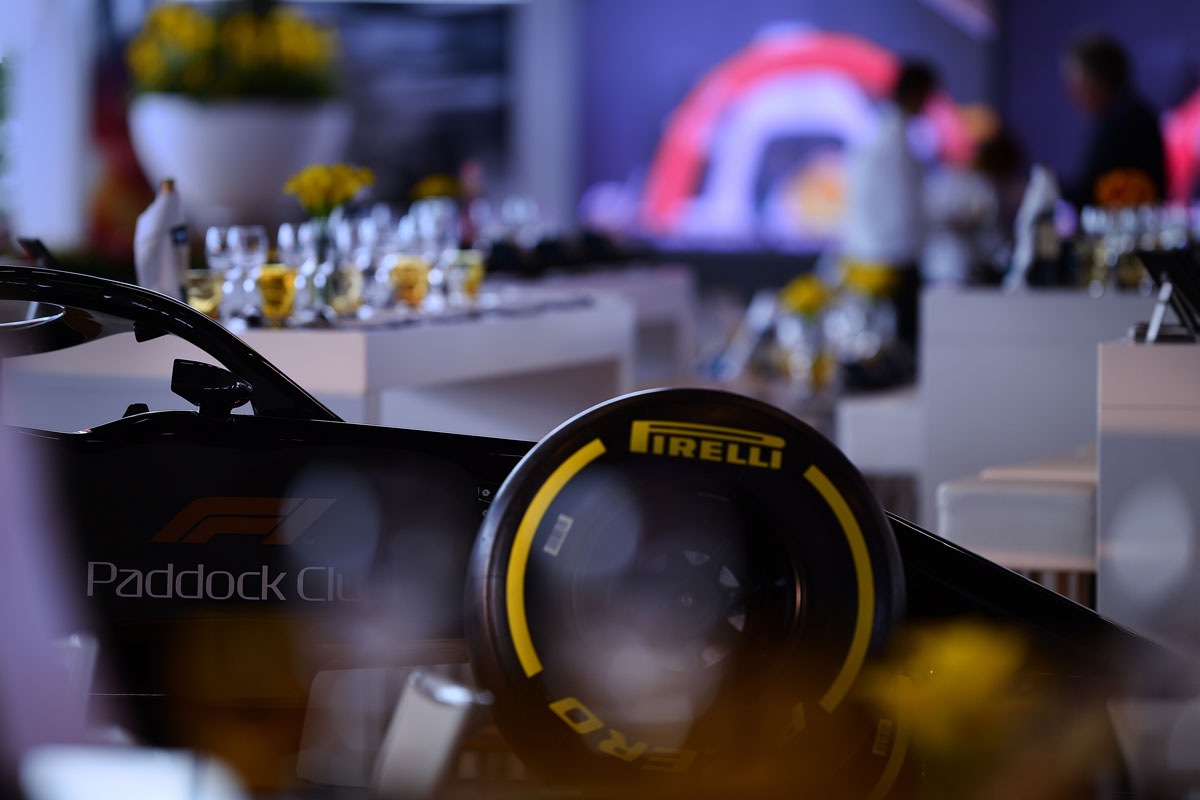 F1 Imola 2020 – Paddock Club ™ –  F1® Experiences