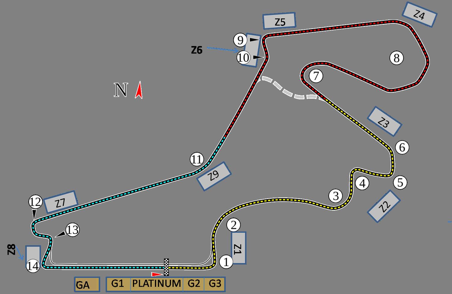 Circuit Grand Prix® van Turkije - Istanbul 2020
