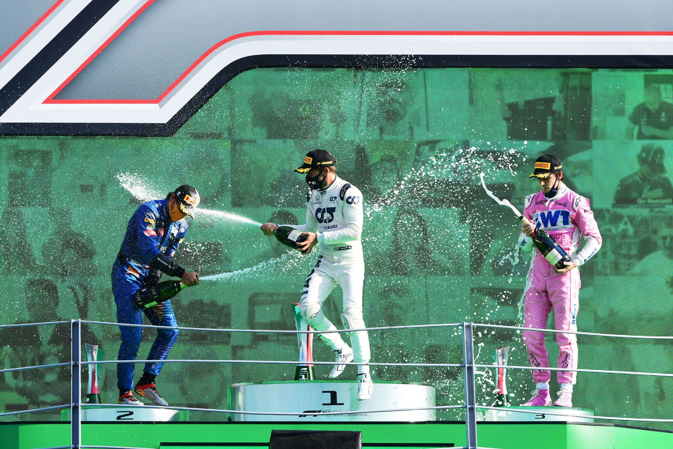 Race Resultaat – Grand Prix van Italië – Monza 2020