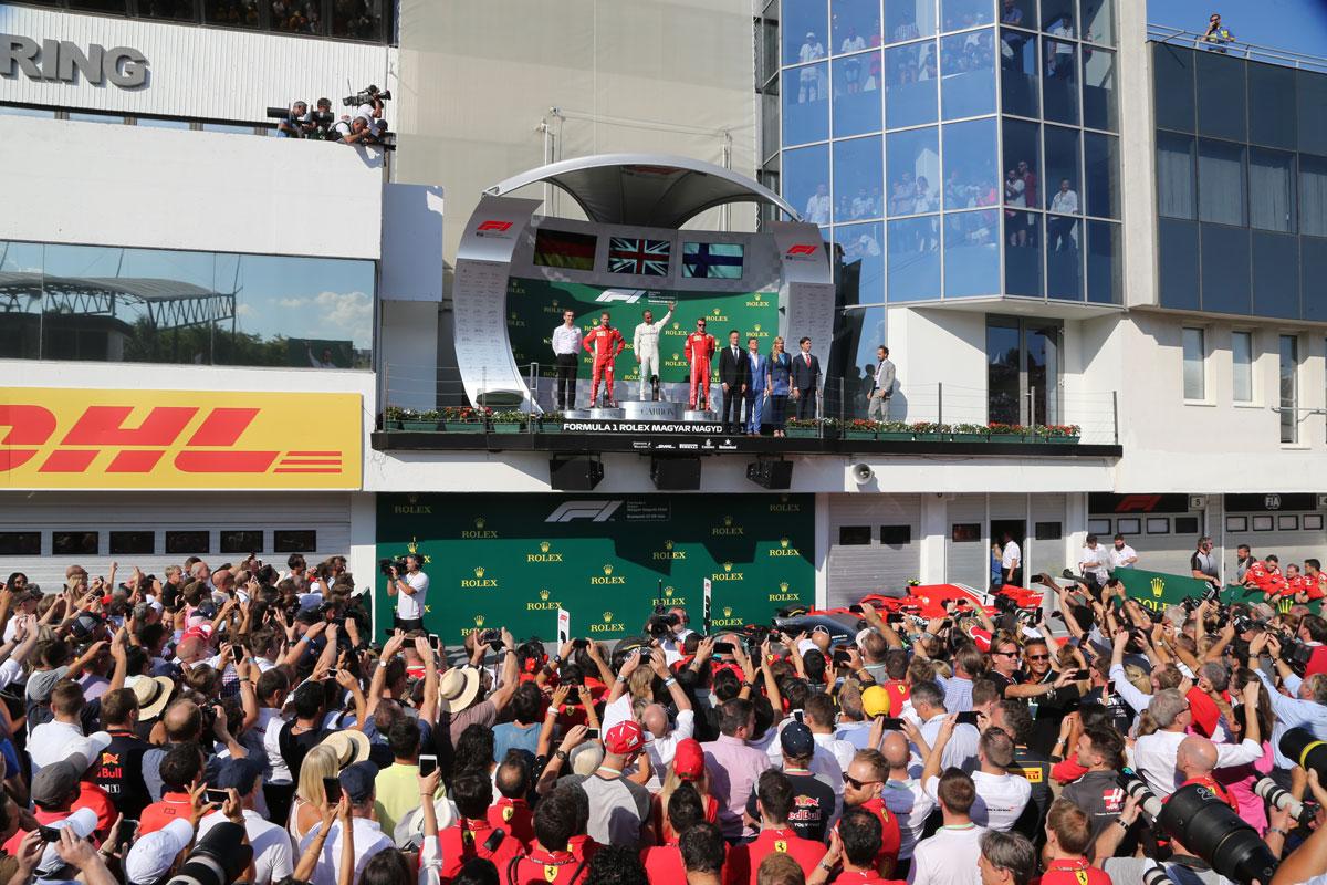 F1 GP Hongarije 2021 – Legend ticketpakket (Paddock Club™) F1® Experiences