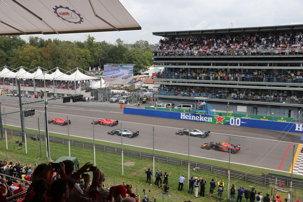 GP van Italië 2021 – Formule 1 Monza – Hero ticketpakket F1® Experiences