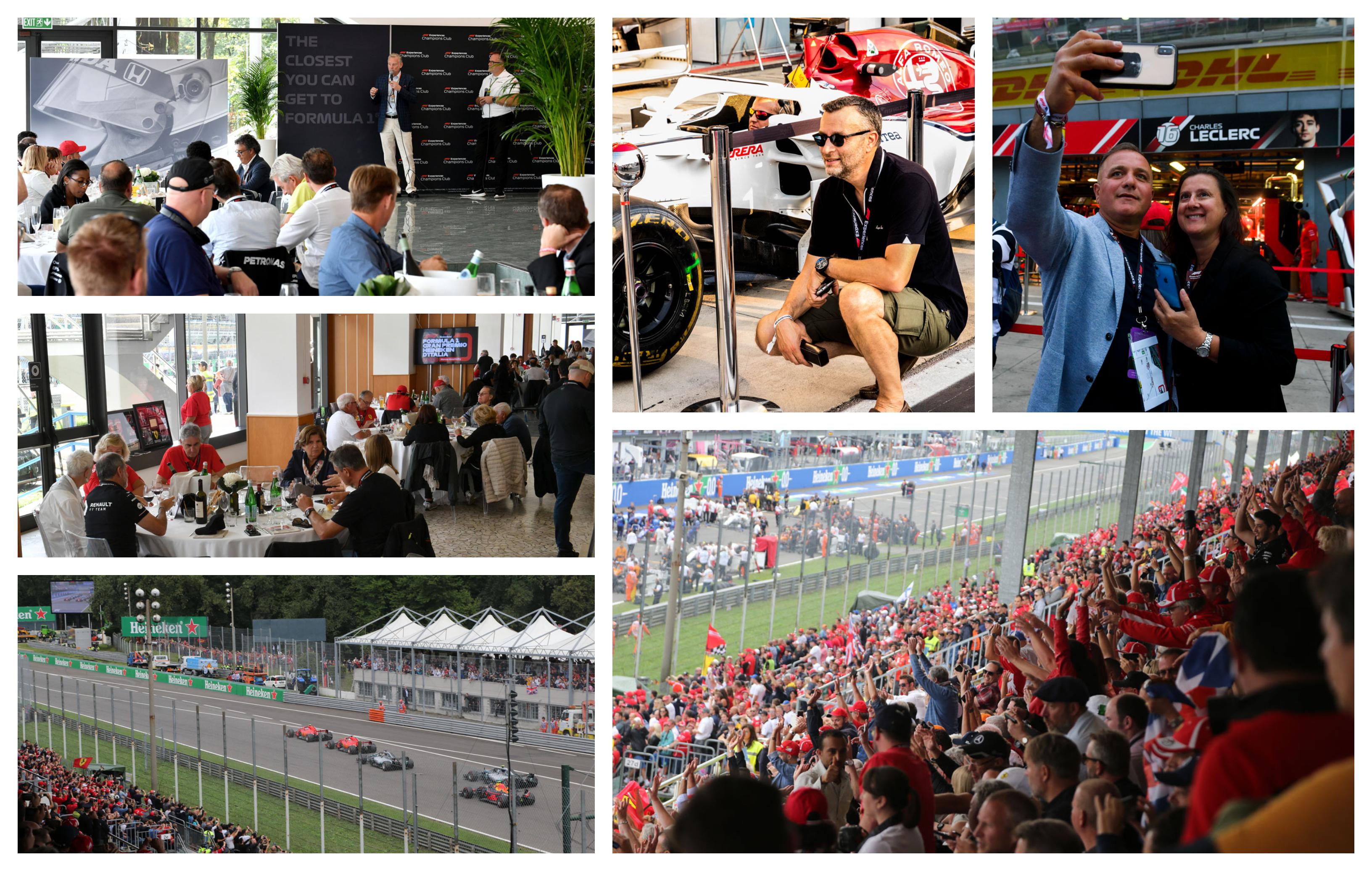 Formule 1 Italië – Monza 2021 – F1® Experiences Champions Club