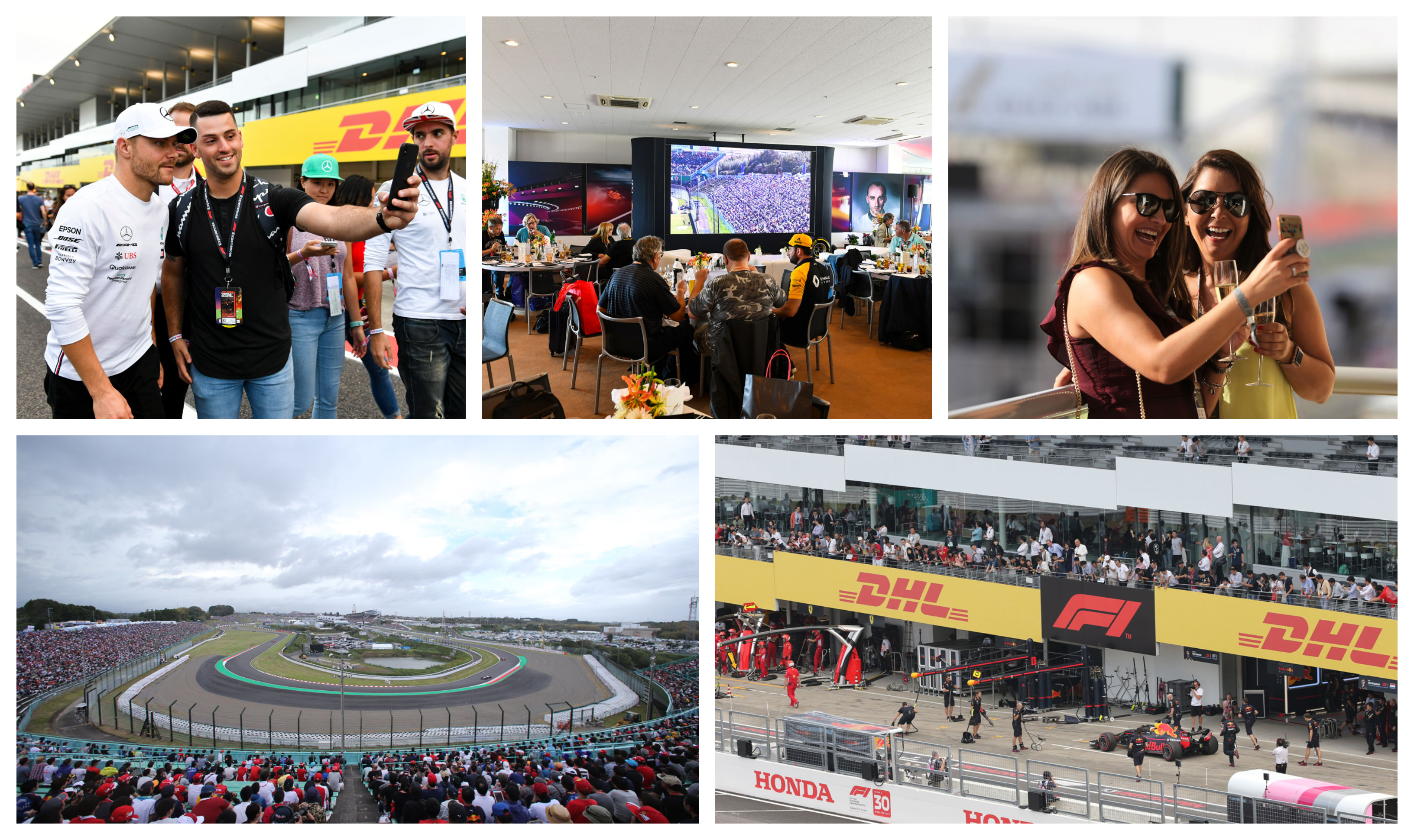 F1 Suzuka – GP van Japan 2021 – Premier ticketpakket F1® Experiences
