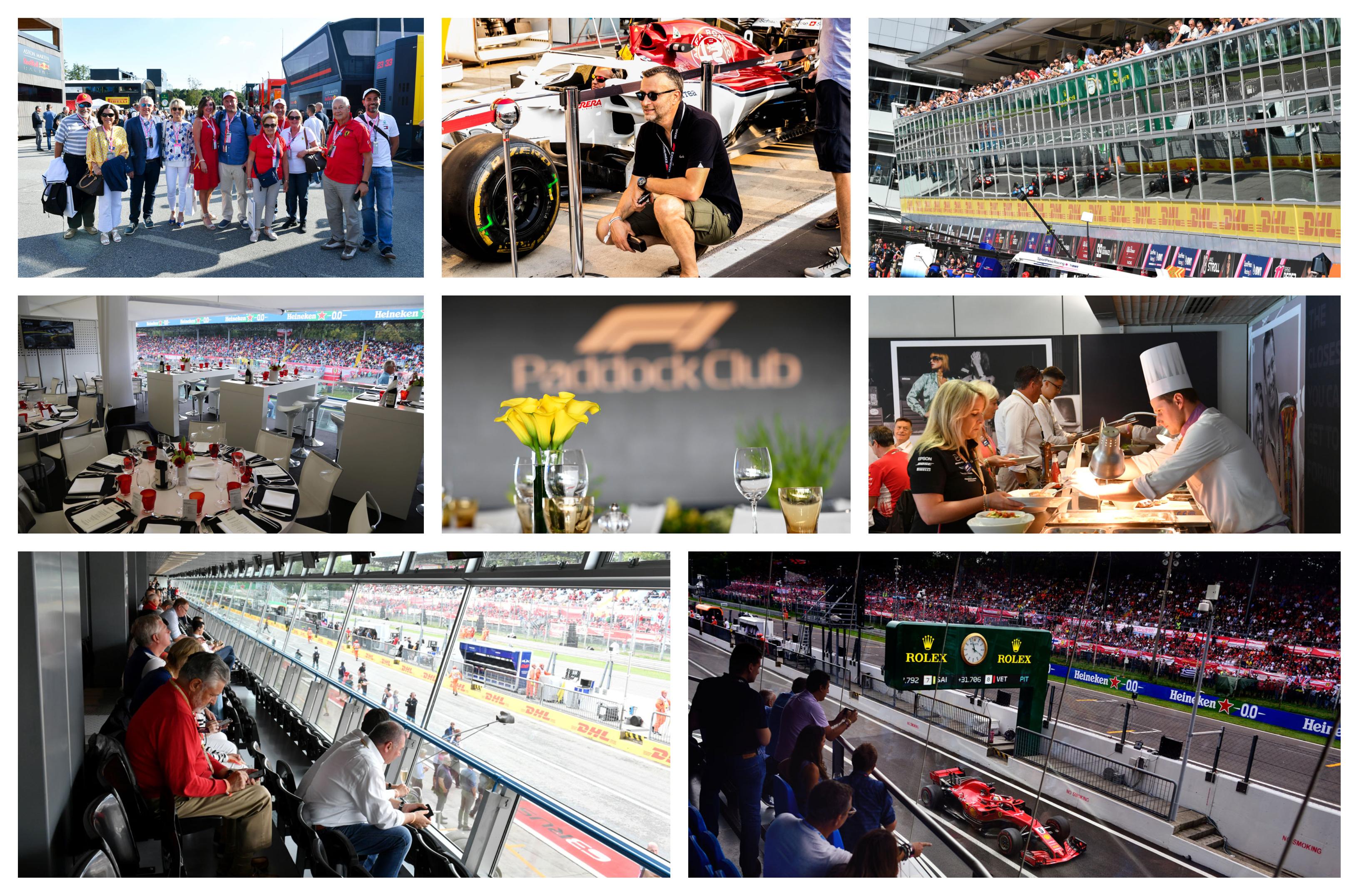 Grand Prix van Italië 2021 – Formule 1 Paddock Club ™ Monza –  F1® Experiences
