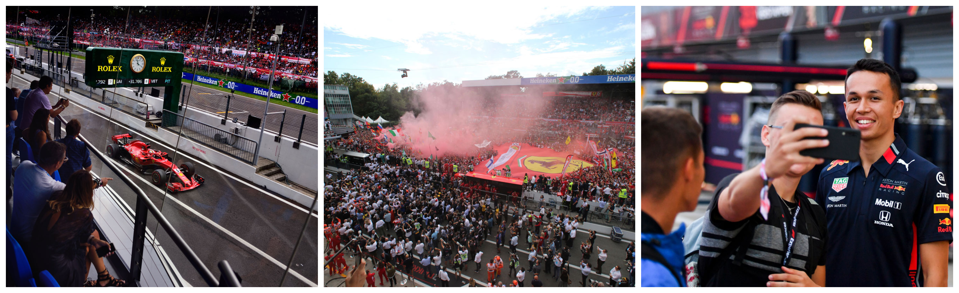 F1® Experiences – Tickets F1 Monza 2021